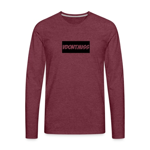 vDontMiss Nation - Men's Premium Long Sleeve T-Shirt