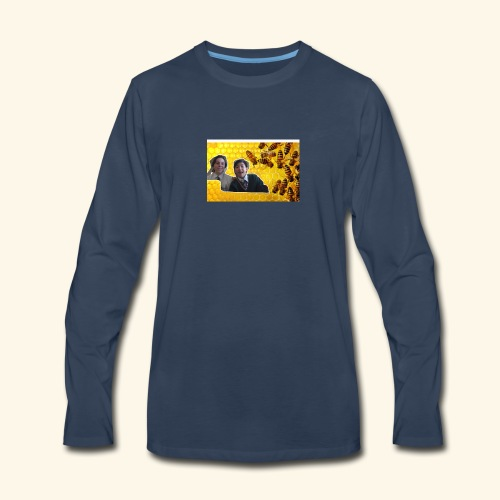 bees are cool - Men's Premium Long Sleeve T-Shirt