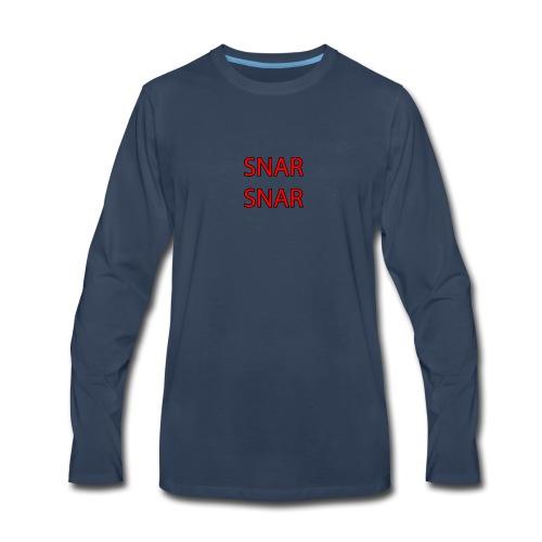 snar snar - Men's Premium Long Sleeve T-Shirt