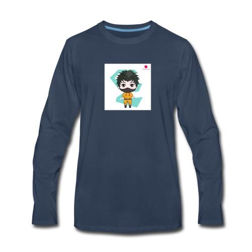 The mini x vampire logo - Men's Premium Long Sleeve T-Shirt