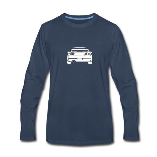 skyline r33 - Men's Premium Long Sleeve T-Shirt