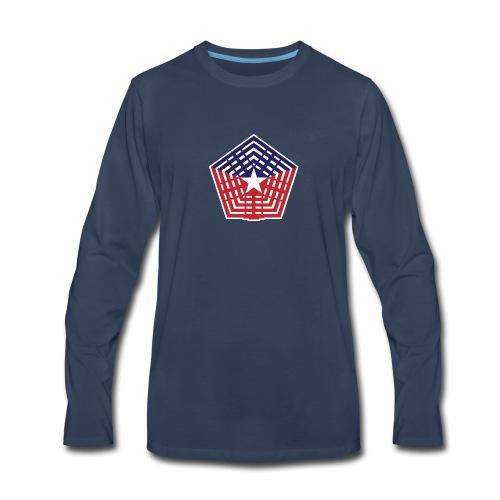The Pentagon - Men's Premium Long Sleeve T-Shirt