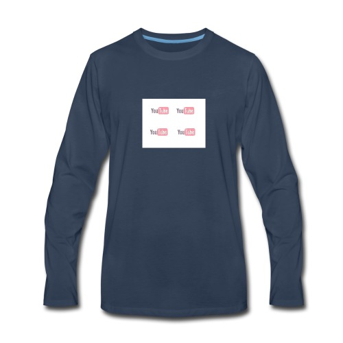youtube_x4 - Men's Premium Long Sleeve T-Shirt