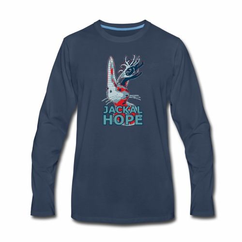 Jackalhope - Men's Premium Long Sleeve T-Shirt