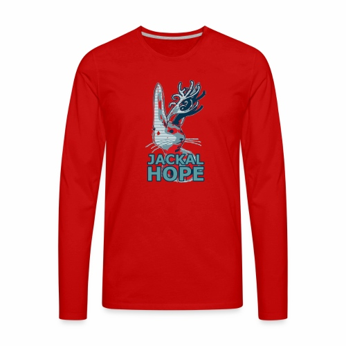 Jackalhope - Men's Premium Long Sleeve T-Shirt