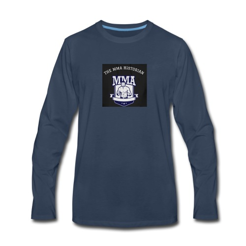 THE MMA Historian - Men's Premium Long Sleeve T-Shirt