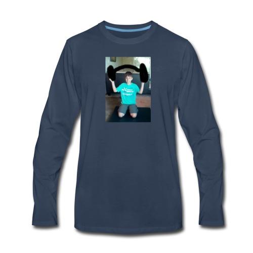 Asher strong mode - Men's Premium Long Sleeve T-Shirt