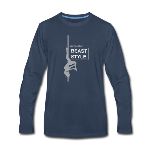 Activate: Beast Style - Men's Premium Long Sleeve T-Shirt