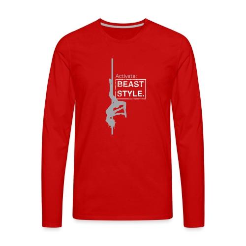 Activate: Beast Style - Men's Premium Long Sleeve T-Shirt