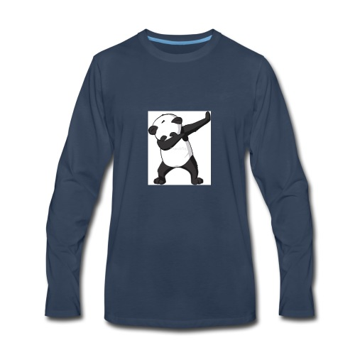 savage panda hoodie - Men's Premium Long Sleeve T-Shirt