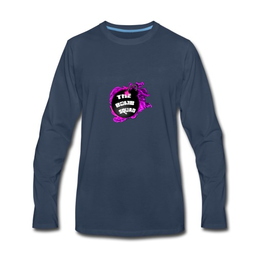 Pink Bomb Squad - Men's Premium Long Sleeve T-Shirt
