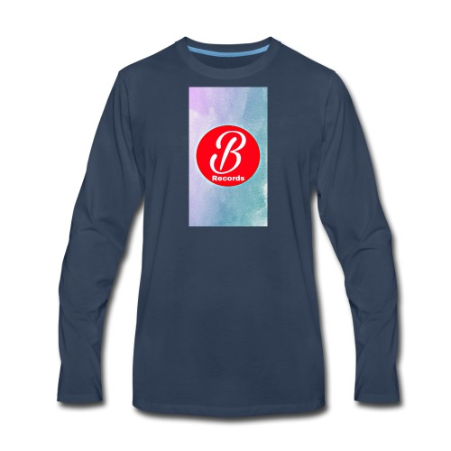 Bursona Records Merch - Men's Premium Long Sleeve T-Shirt