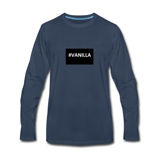 Vanilla - Men's Premium Long Sleeve T-Shirt