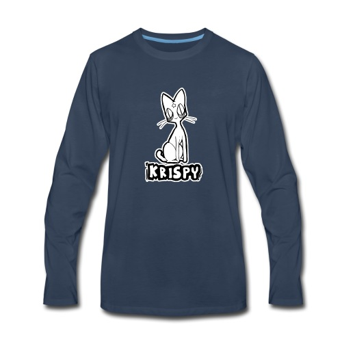 KRISPY - Men's Premium Long Sleeve T-Shirt