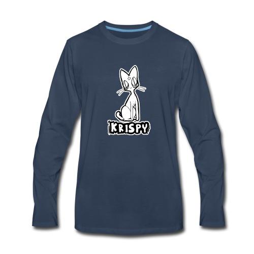 KRISPY - Men's Premium Long Sleeve T-Shirt