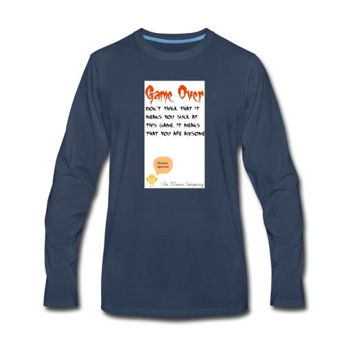 Game Over - Men's Premium Long Sleeve T-Shirt