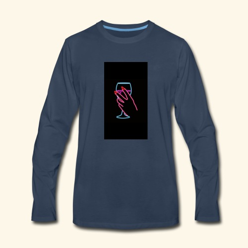 unbothered - Men's Premium Long Sleeve T-Shirt