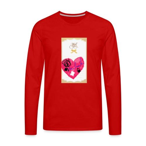 Heart of Economy 1 - Men's Premium Long Sleeve T-Shirt