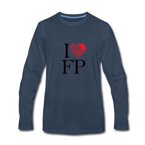 I Love Freedom Prayer - Men's Premium Long Sleeve T-Shirt
