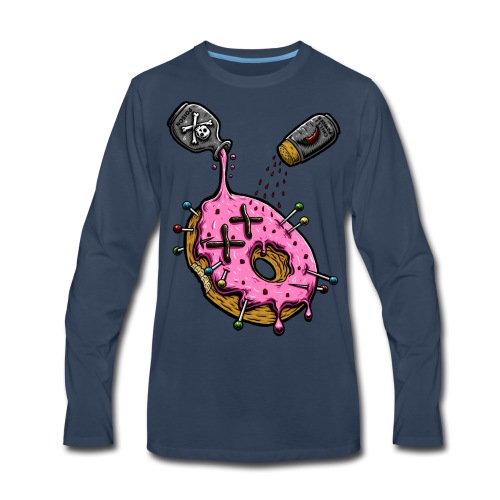 DONUT EAT ME! - Men's Premium Long Sleeve T-Shirt