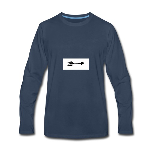 a - Men's Premium Long Sleeve T-Shirt