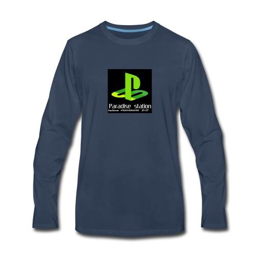 Paradise green - Men's Premium Long Sleeve T-Shirt