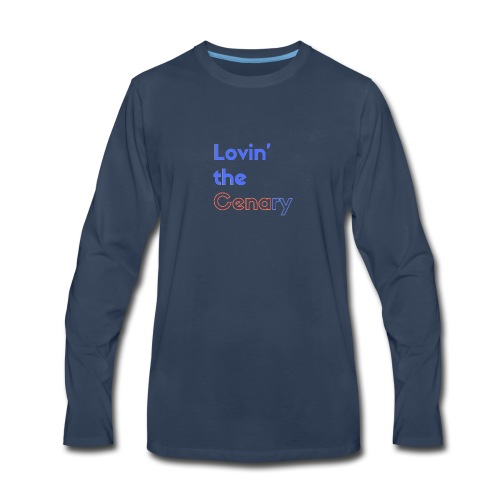 Lovin' the CENAry - Men's Premium Long Sleeve T-Shirt