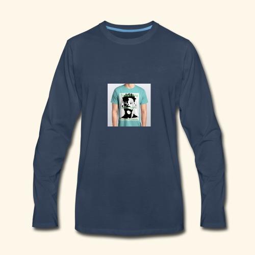 foolish boy come here - Men's Premium Long Sleeve T-Shirt