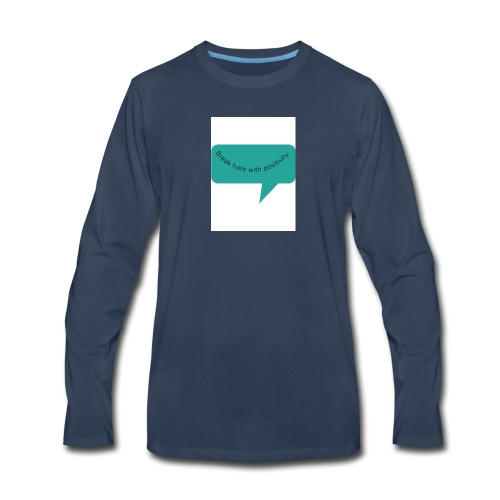 bhwp 1 shirt - Men's Premium Long Sleeve T-Shirt
