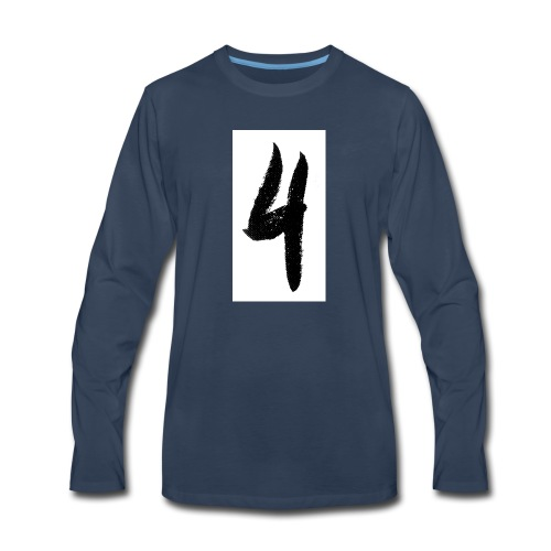 rouge 4 - Men's Premium Long Sleeve T-Shirt