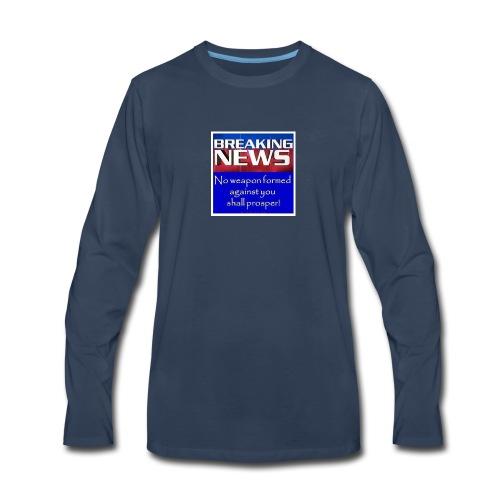 Isaiah 54:17 - Men's Premium Long Sleeve T-Shirt