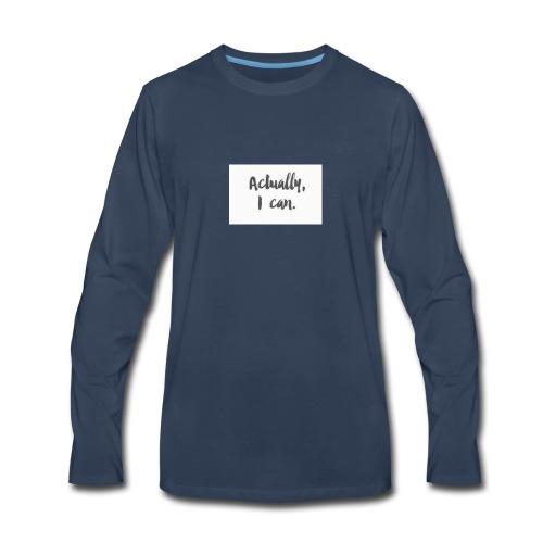 20180627 103356 - Men's Premium Long Sleeve T-Shirt