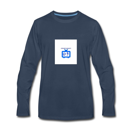 OdogVlogsTv Offical Logo - Men's Premium Long Sleeve T-Shirt