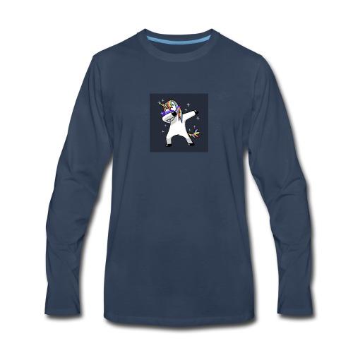 Oonicorn the Dabicorn - Men's Premium Long Sleeve T-Shirt