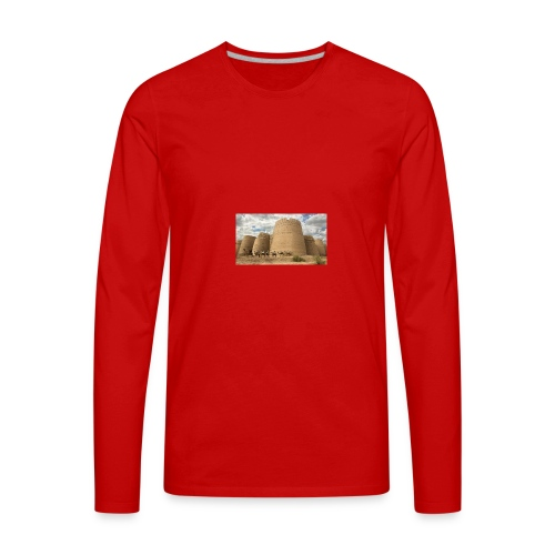 Darawar fort - Men's Premium Long Sleeve T-Shirt