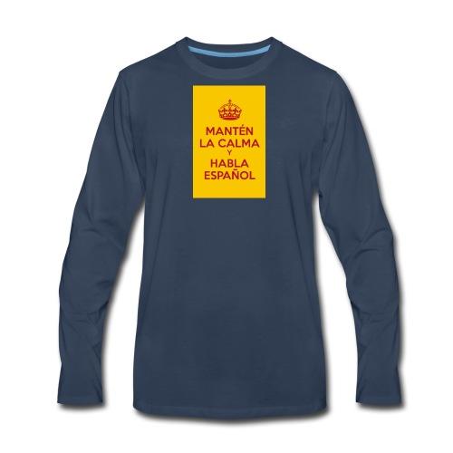 keepcalmposter - Men's Premium Long Sleeve T-Shirt