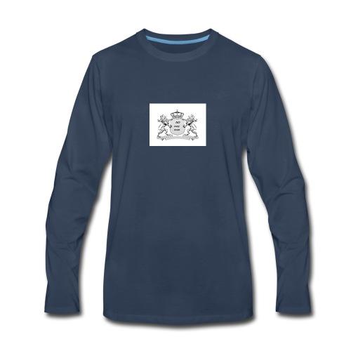 NO way man crowns of cougar - Men's Premium Long Sleeve T-Shirt