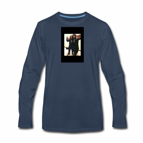 $Free The Twins$ - Men's Premium Long Sleeve T-Shirt