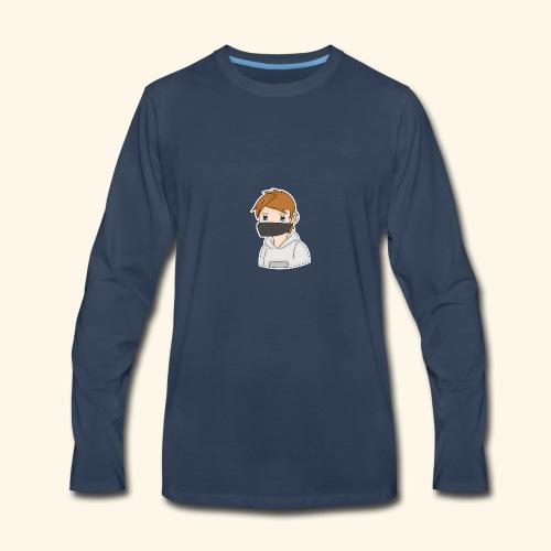 Manga CreedFire Colection - Men's Premium Long Sleeve T-Shirt