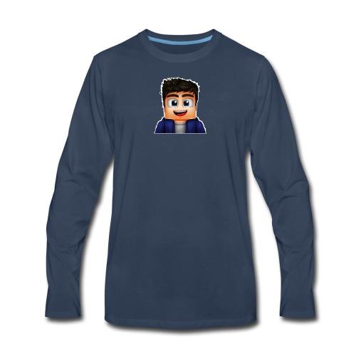 Smorez Merch - Men's Premium Long Sleeve T-Shirt