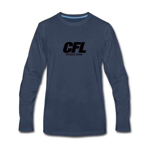 CFL Productions 2017 - Regular logo size - Men's Premium Long Sleeve T-Shirt
