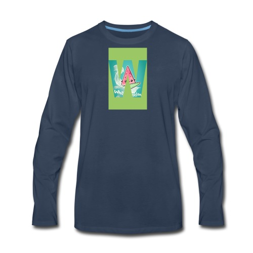 Surfing meloan - Men's Premium Long Sleeve T-Shirt