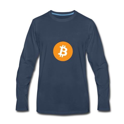 Bitcoin - Men's Premium Long Sleeve T-Shirt