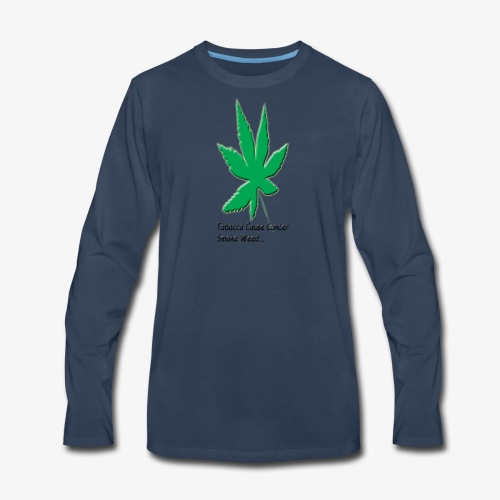 weed - Men's Premium Long Sleeve T-Shirt
