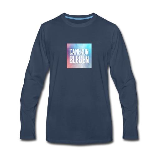 CAMERON BLEGEN OFFICIAL - Men's Premium Long Sleeve T-Shirt