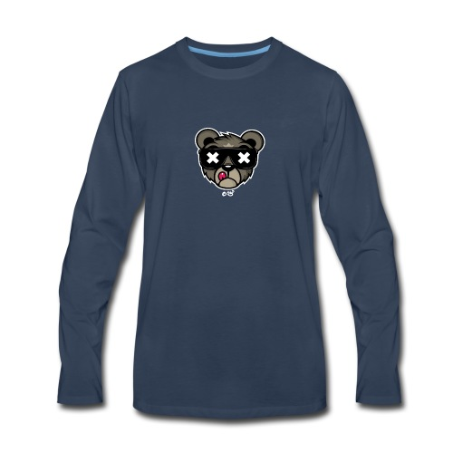 Heaveroo Official BEAR SHIRT! - Men's Premium Long Sleeve T-Shirt