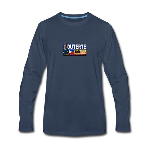 Duterte Icon - Men's Premium Long Sleeve T-Shirt