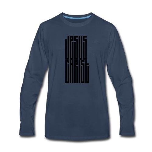 Jesus Christ - Men's Premium Long Sleeve T-Shirt