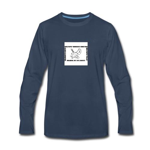 NVU RADIO - Men's Premium Long Sleeve T-Shirt