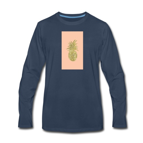 pinaple - Men's Premium Long Sleeve T-Shirt